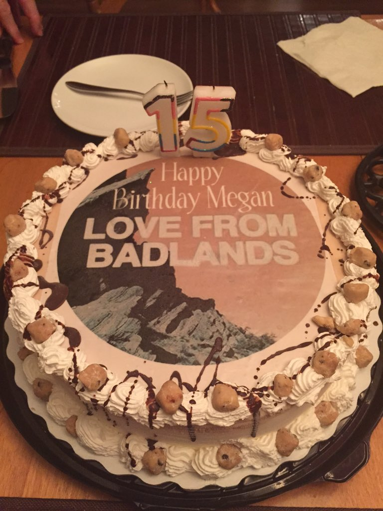 Meg On Twitter Halsey In Love With My Birthday Cake Badlands
