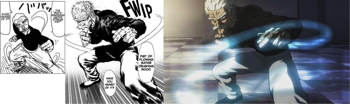 Robert On Twitter Original Webcomic Vs Digital Manga Remake Vs Anime Art Comparison Of Saitama S What Reaction Face Onepunchman Https T Co 1wdkn8f0oy