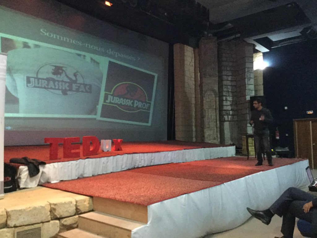 @JFCeci démarre les conférences du #TEDuX de @IFIC_AUF https://t.co/8VpddINRMR