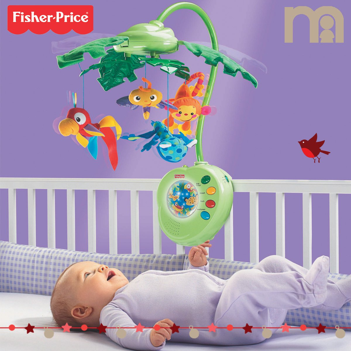 #WIN the Fisher-Price Rainforest Peek-A-Boo Leaves Musical Mobile ! Just tell us your baby's favourite lullaby. https://t.co/56YQn5v5vY