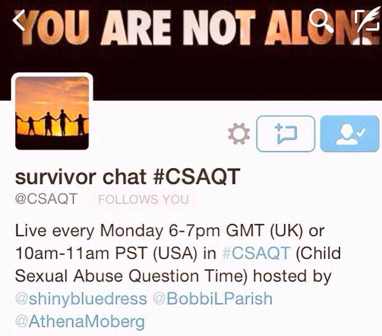 Thumbnail for #CSAQT 11/16/2015 Survivors and Careers
