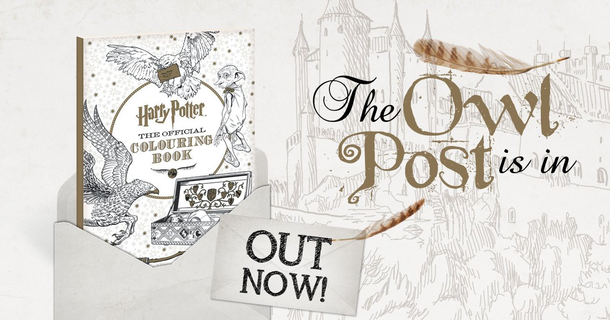 Experience The Magic And Pick Up Your Copy Today Dymocks Au Book Harry Potter Official Adult Colouring 9781743791592