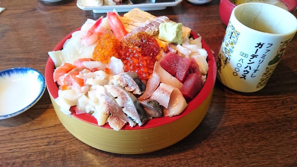 「海鮮丼、千円ちょいか。せっかく北海道に来たんだし、食ってくか!」 ↓(10分後) 「ちょっと待って。待って」