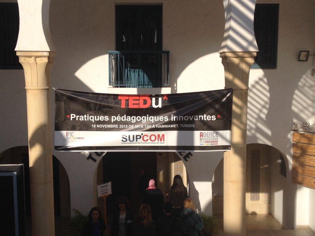 #tedux #hammamet #ICT4ALL  c'est parti ! https://t.co/jjkscwbm99