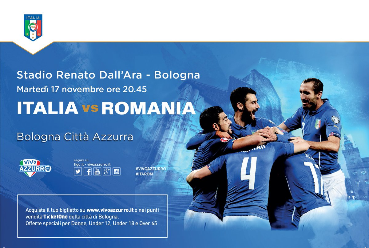 ITALIA-Romania Streaming Calcio Diretta Rai TV Rojadirecta Oggi 17 novembre 2015.
