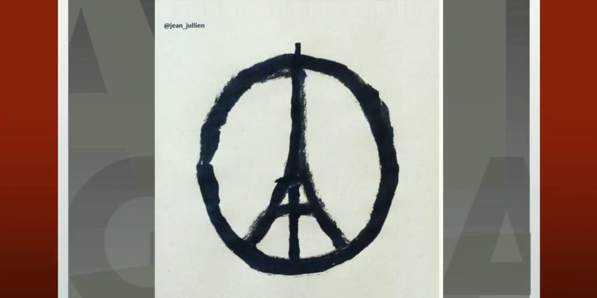 Good Morning America On Twitter This Peace Symboleiffel Tower