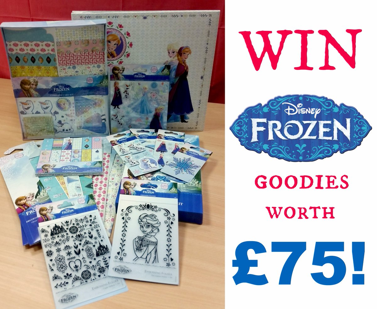 #WIN an amazing bundle of Disney Frozen craft products from @TheRangeUK worth £75! https://t.co/Y0O43nQayj https://t.co/PObztyRH6S
