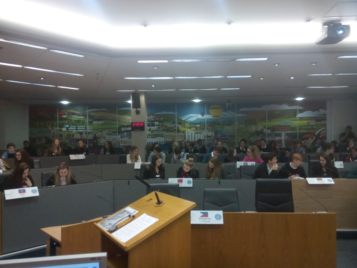 UN countries getting ready for #MockCOP at @AssemblyWales @CEWCCymru https://t.co/Ax6ACkX4pK