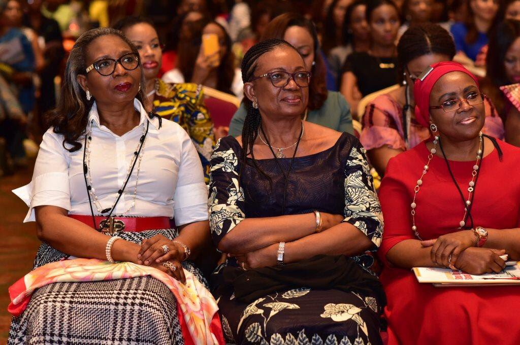 "3 amazing women,each with the title ""Chairman"" to 3 of the biggest banks in Africa. Women doing big things! @Wimbiz https://t.co/KH9RiL0dL0"