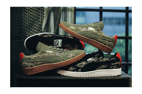"""reputable site 08ac6 3c8c4  new SBTG x mita sneakers x PUMA Clyde contact """"First Contact"""" Pack  http   ift.tt 1H4h9S0 pic.twitter.com TPFlvg40Lt"""