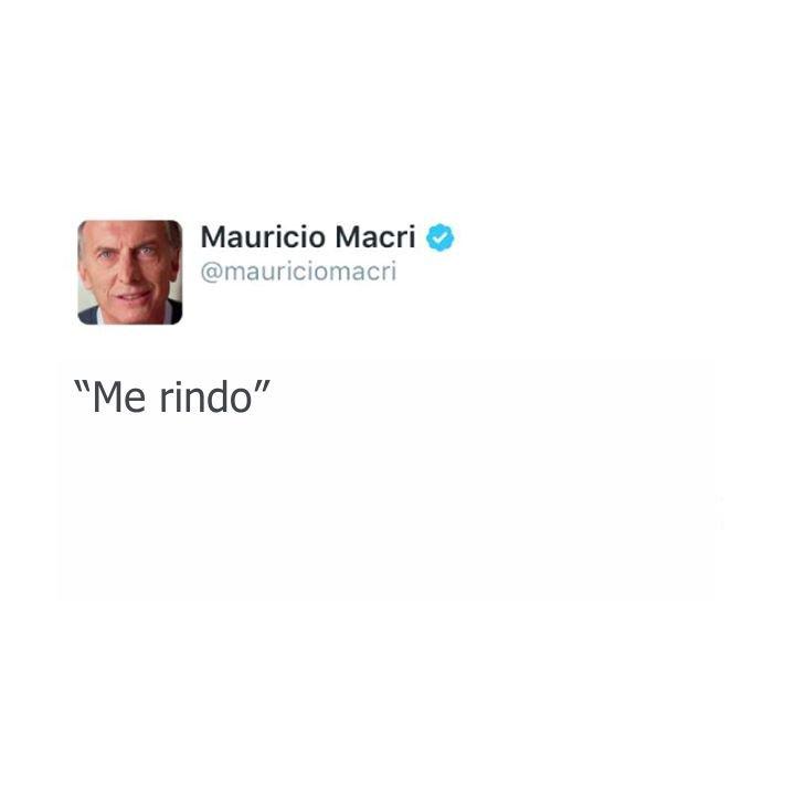 """Macri: """"Scioli dice las cosas horribles que voy a hacer"""""""