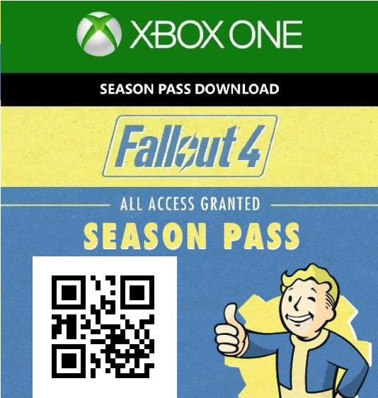 fallout 4 xbox one code free