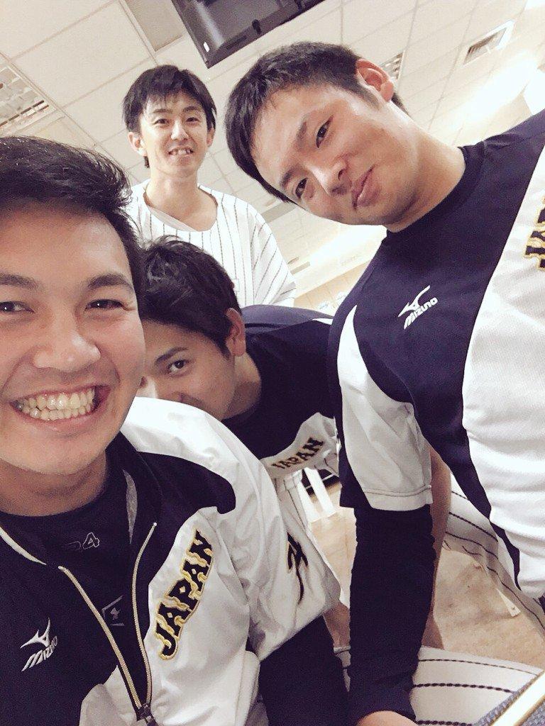 勝ったーっ🔥勝ったーっ🔥これで胸張って東京ドームに帰るぞー👍遠い日本からも、台湾現地の方々も、応援有難う御座いました(//∇//)はいッ‼︎お疲れ様ショットです。#Premire12 #侍ジャパン pic.twitter.com/oB9q67sBcf