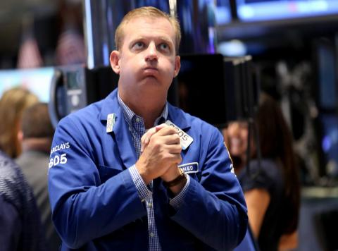 Stocks open lower on first day of trading since Paris attacks nbcnews.to/1PvZ0z6