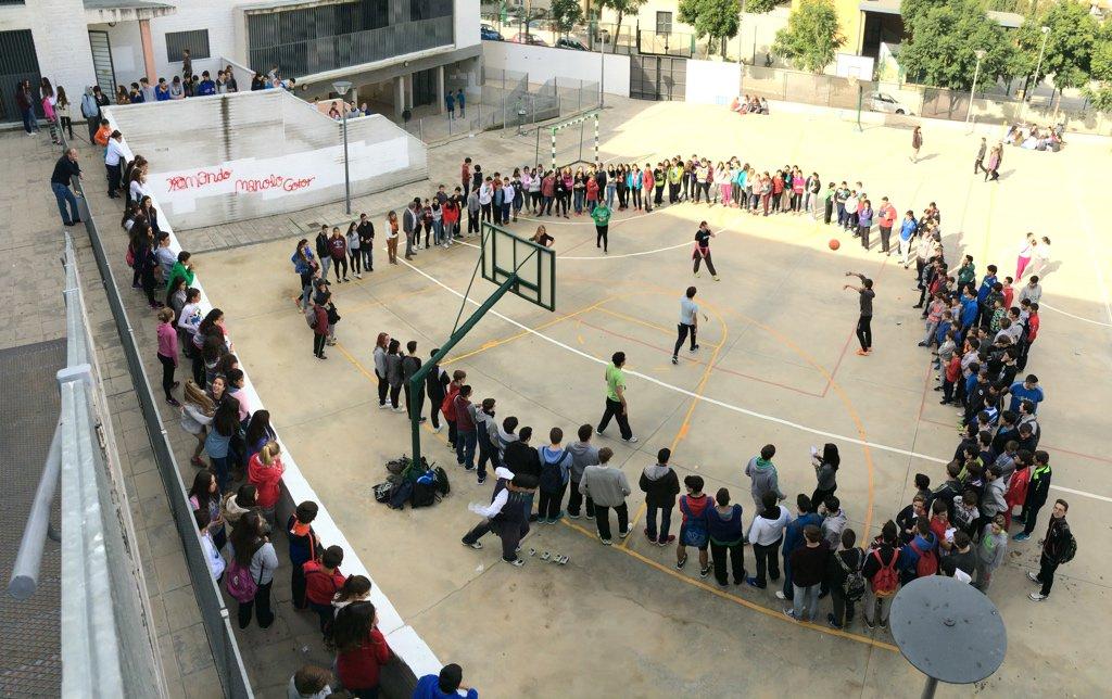 Baloncesto, otro deporte en el Galileo