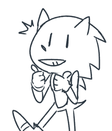 sonic's here to tell you that Monday's okay and you don't have to push yourself today!! https://t.co/0IDVTmIWAc