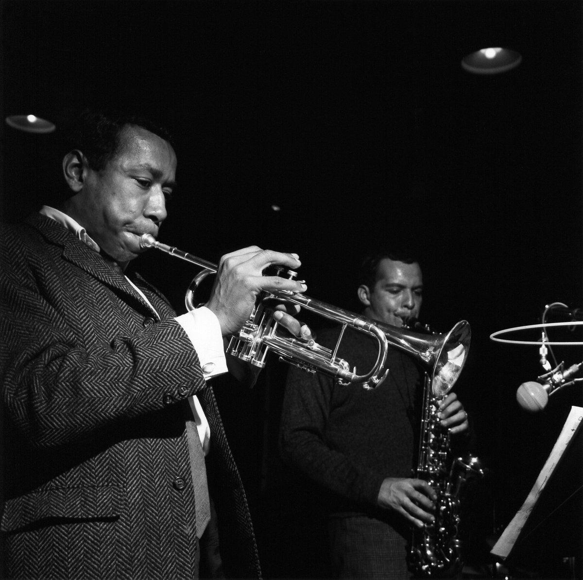 50 yrs ago today trumpeter #LeeMorgan recorded his album 'Infinity' ft altoist #JackieMcLean https://t.co/0IzZBmTfAV