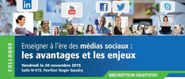 #cpass_ms : hashtag officiel du #Colloque #MédiaSociaux en enseignement @FacMedUdeM de vendredi à @umontreal https://t.co/xIRNJf4aGJ