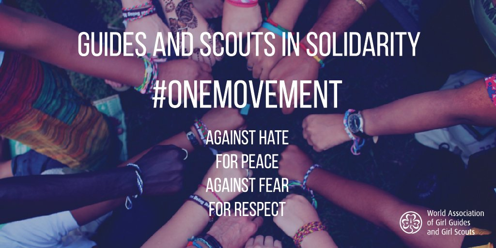 Together we are #OneMovement  Against hate For peace Against fear For respect  #UnMouvement  https://t.co/fVWUDkJWdo https://t.co/CrGNkY4AtR