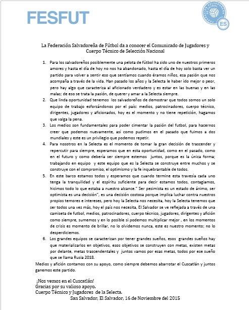 Rusia 2018: El Salvador vs Canada en el Cuscatlan el 17 de noviembre del 2015.  Informacion del juego. CT9BwaVVAAE3zsV