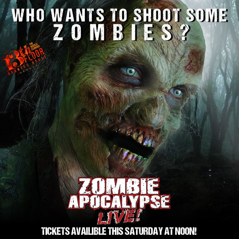 13th floor zombie apocalypse denver blitz blog for 13th floor haunted house discount tickets
