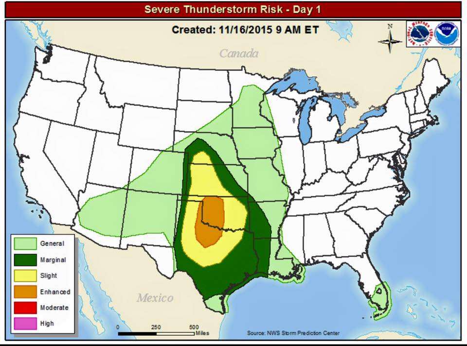 100% chance of an avacado over the South Central US today. https://t.co/FodQQuZ3uW