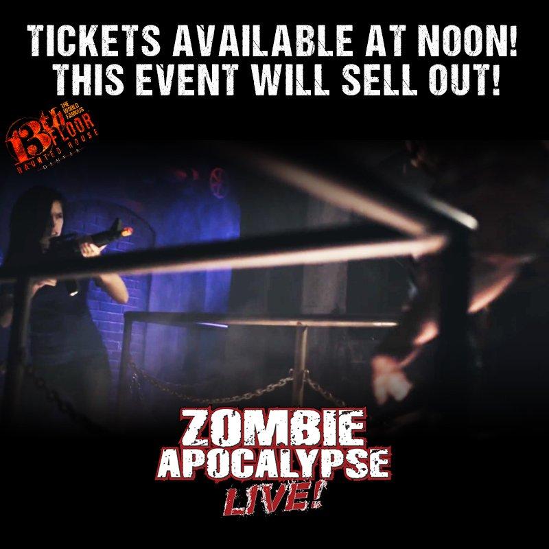 13th floor zombie apocalypse promo code gurus floor for 13th floor discount tickets