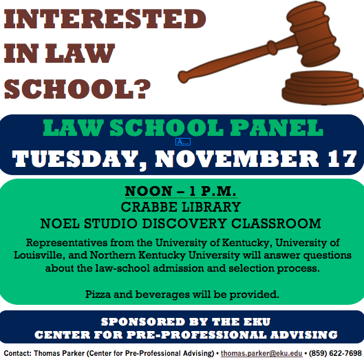 Eku pre law advising ekuprelaw twitter applying to law school come to the admissions panel on tues nov 17 noon 1pm noelstudio discovery roompicitterteyfou487x malvernweather Image collections