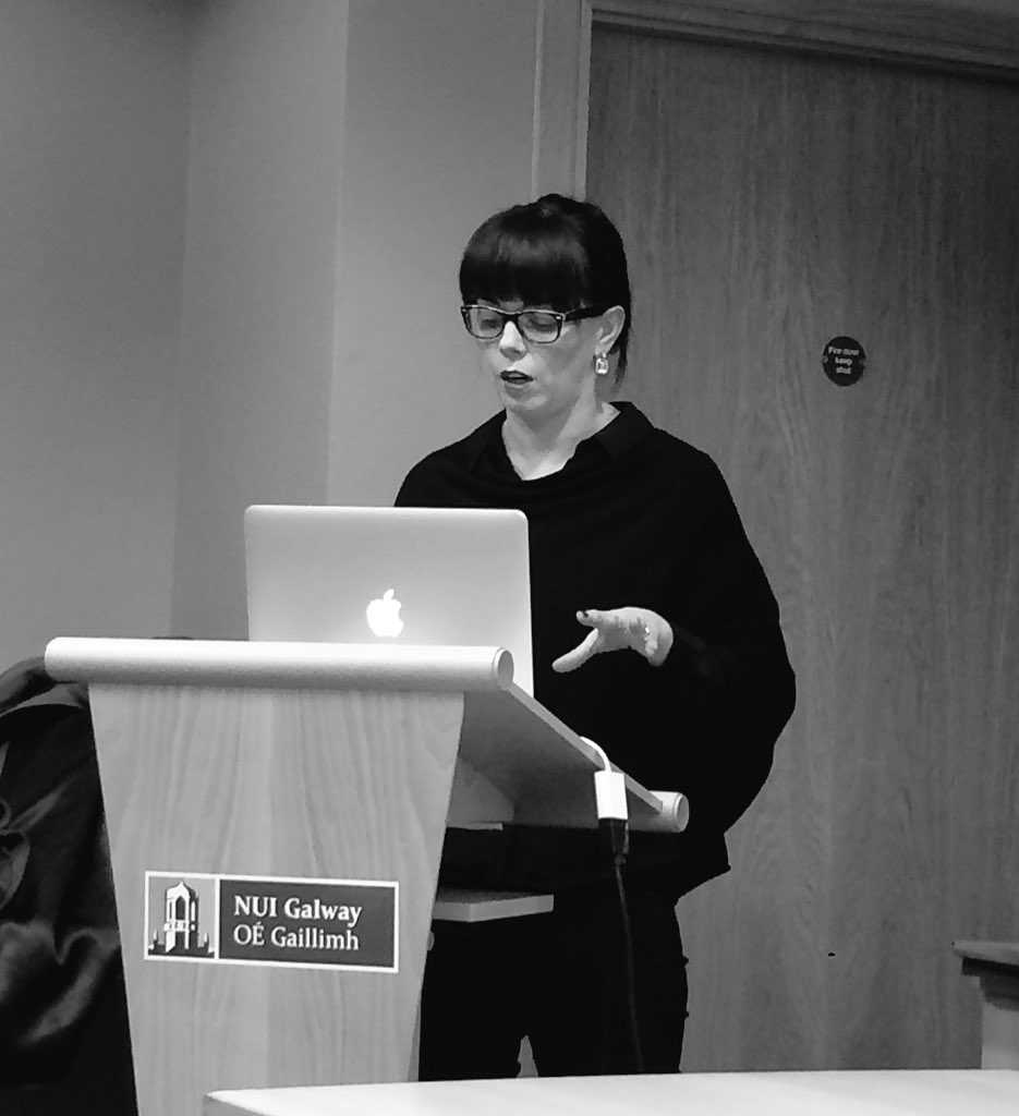 Now speaking: Dr Sarah-Anne Buckley (@SarahAnneBuckle) from @nuigalway #letters1916 https://t.co/DbR0KA8OY5