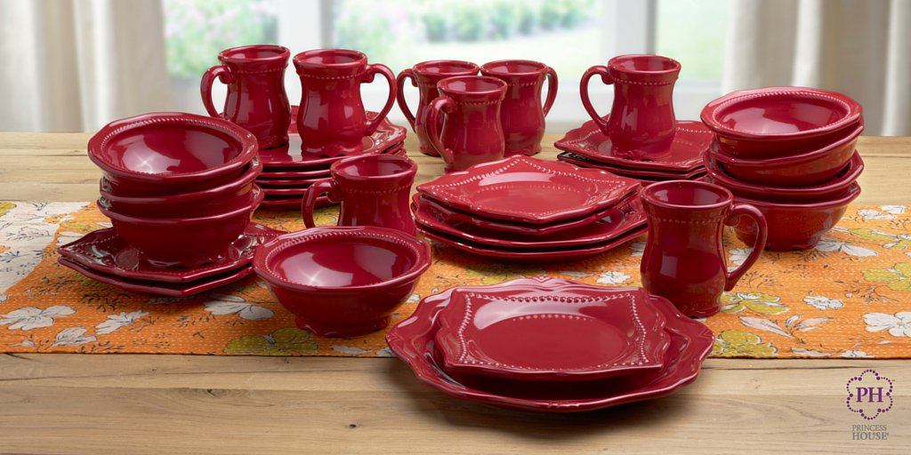 Princess House Inc. on Twitter  Pavillion™ Berry 32-Piece Dinnerware Set #Holidays #Dinnerware #PrincessHouse //t.co/teiH64XAnr ... & Princess House Inc. on Twitter: