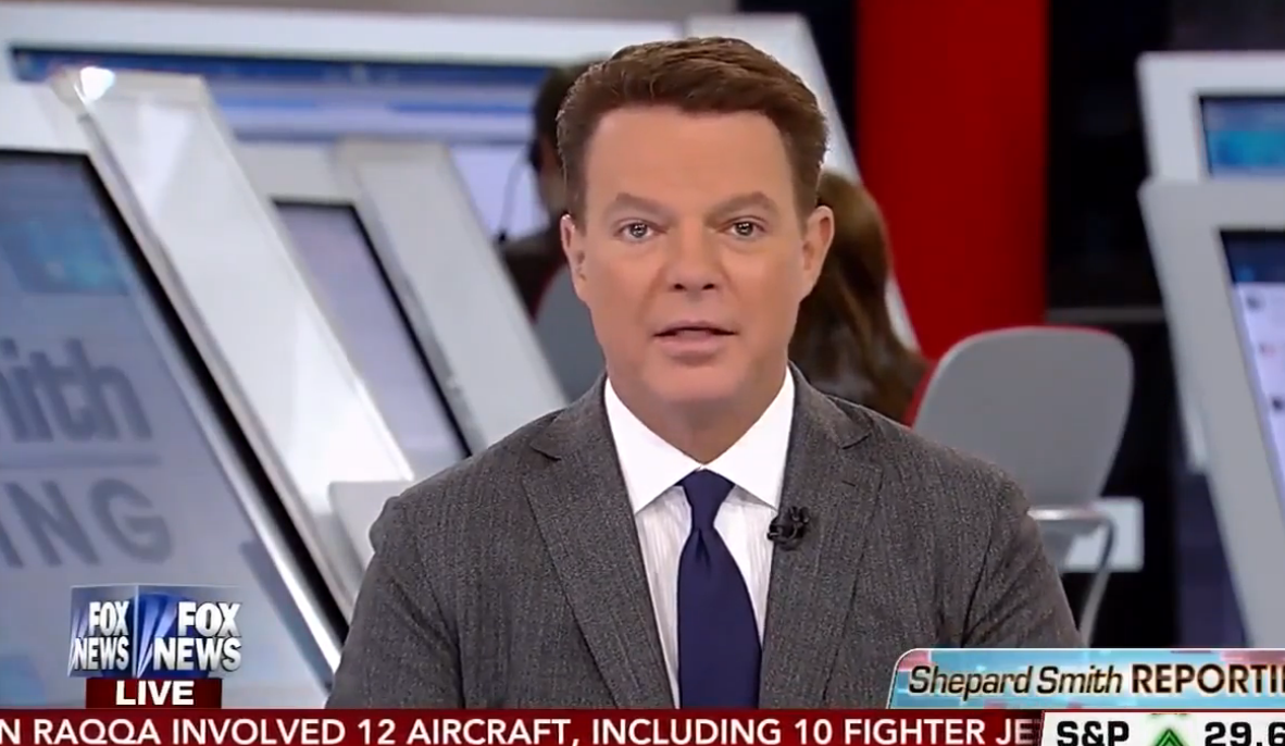 Fox Shepard Smith: Political extremists  Refuse Syrian terrorists VIDEO