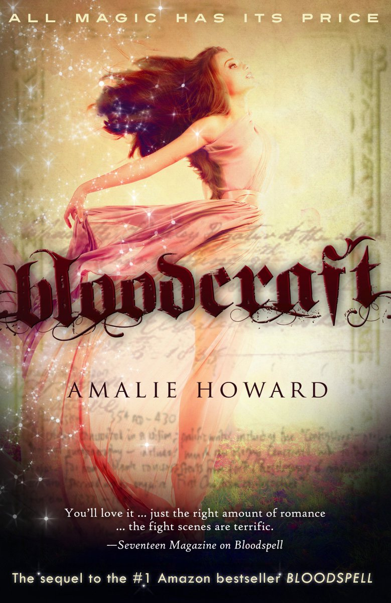 Retweet this tweet of the #Bloodcraft cover for a chance to win an e-copy of #Bloodspell! #PNRChat https://t.co/J8MNIBkAQc