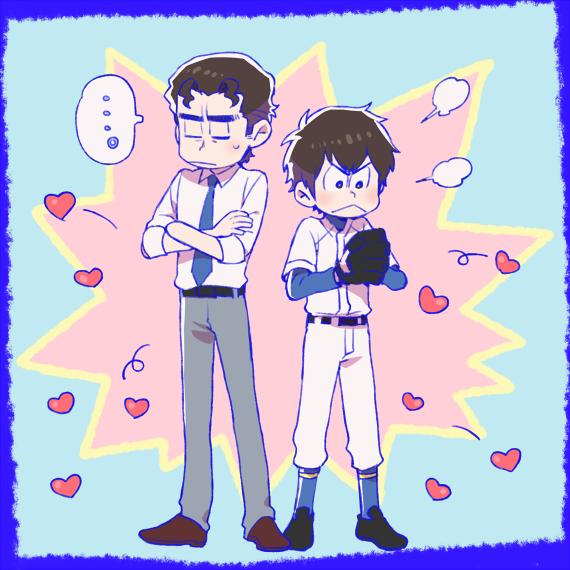 Replying to @_ogakuzu: お///そ松さん風クリ沢 n番煎じだったらスミマセン