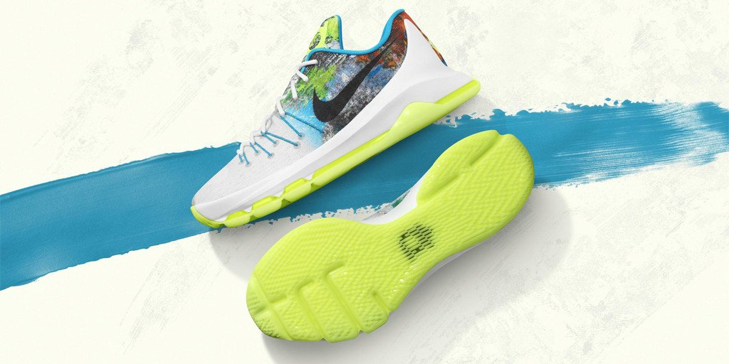 99beffd62157 in honor of nahm2015 kdtrey5 will take the court in the new kd8 n7 on sunday