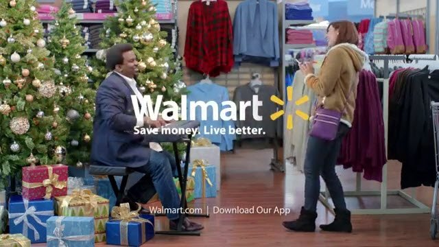 tv commercial spots on twitter walmart app christmas wishlist hey girl have yourself a merry little wishlist your boyfriend cant read - Walmart Christmas Commercial