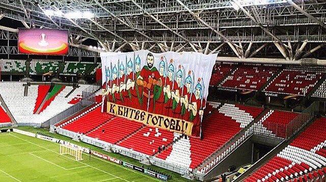 Болельщики «Рубина» подготовили перфоманс к матчу с «Ливерпулем»