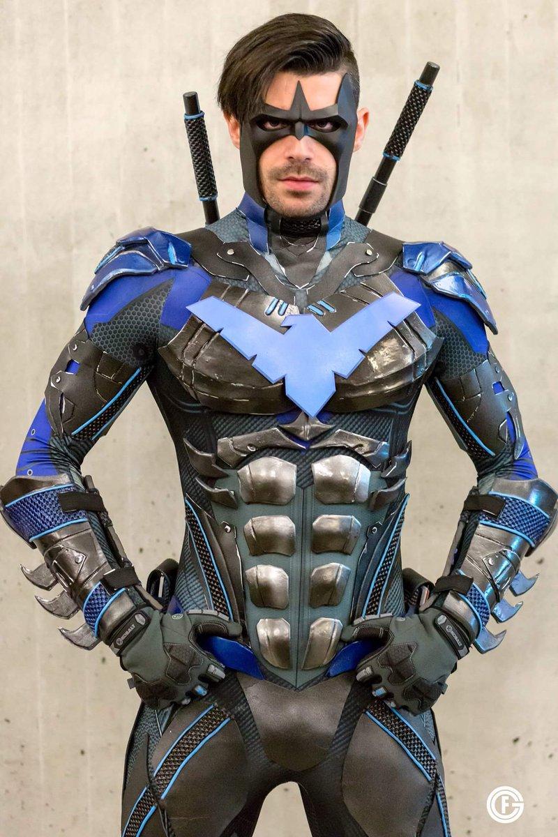 Nightwing armor cosplay shawn webber on twitter nightwing cosplay