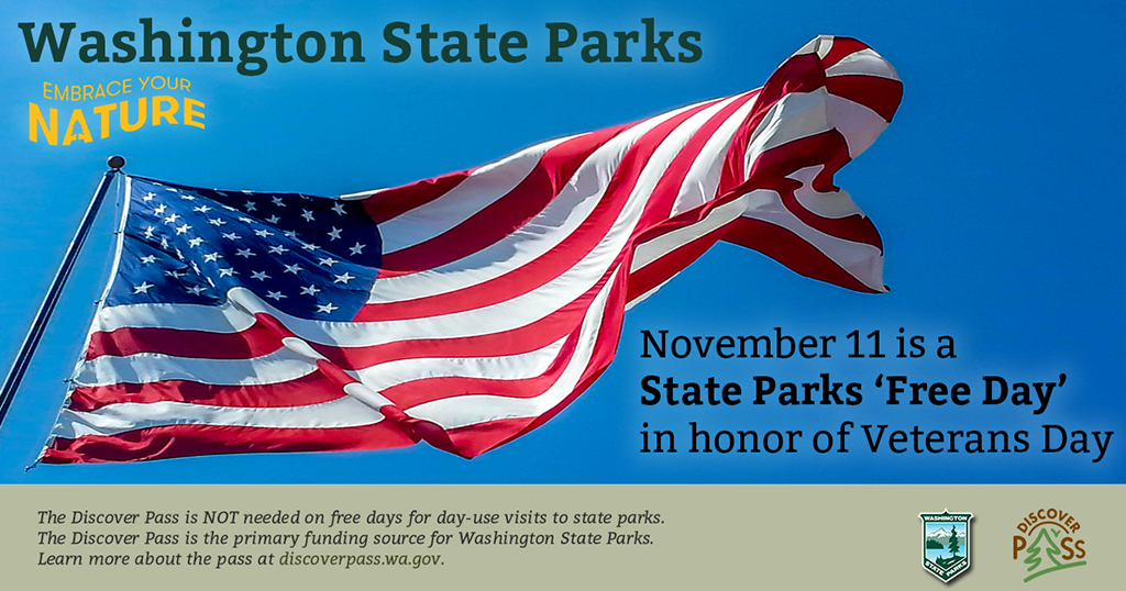 In honor of #VeteransDay, visit a state park for free on Nov. 11 https://t.co/7w4NRu8bSz https://t.co/OfnrZzrzPn