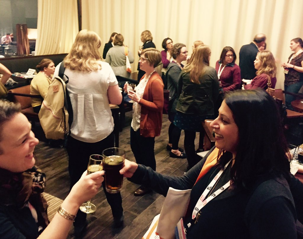 Thanks to everyone who came to the #Musewomen #mentorpilot happy hour and made it a success! #MCN2015 🙌🏾 https://t.co/k1IS4P0yby
