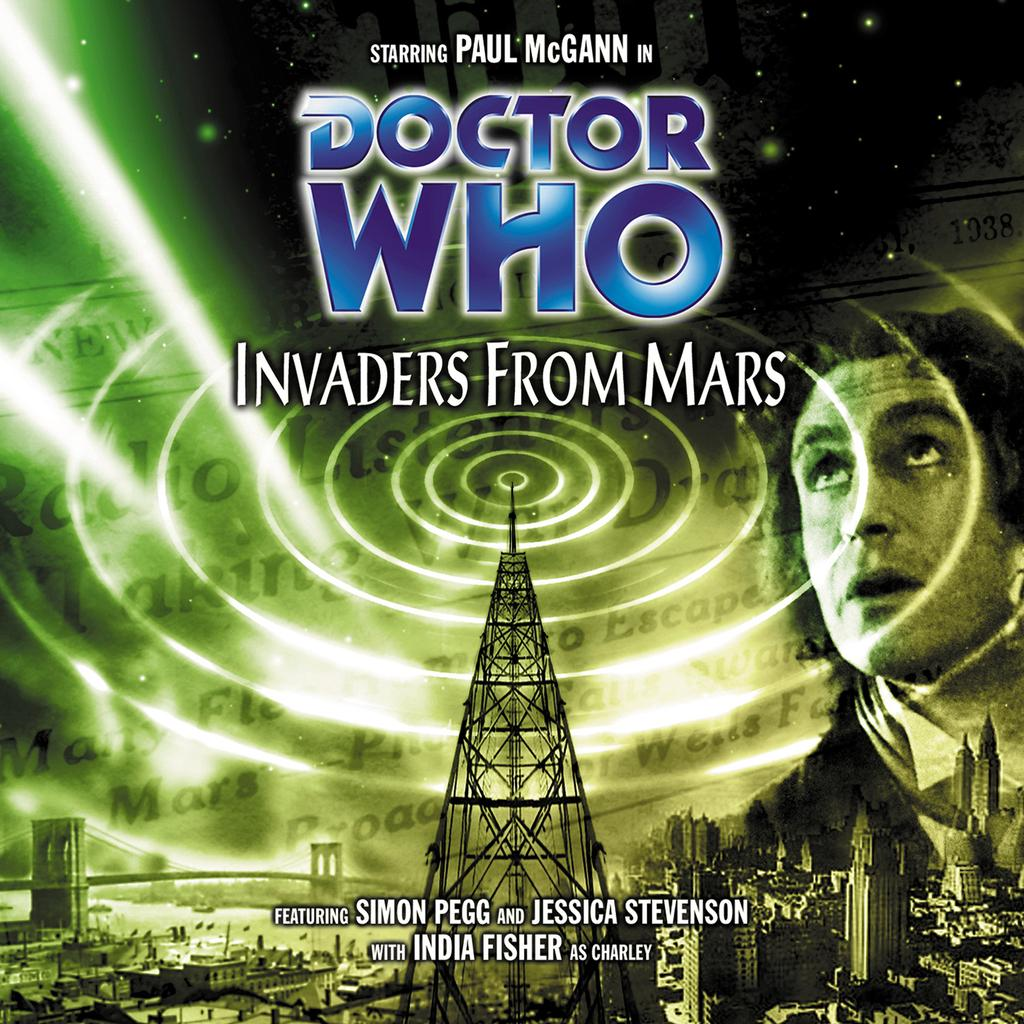 Picked a random @bigfinish #DoctorWho - came up trumps with @Markgatiss great @pauljmcgann story Invaders from Mars! https://t.co/jVYLOQqPYH