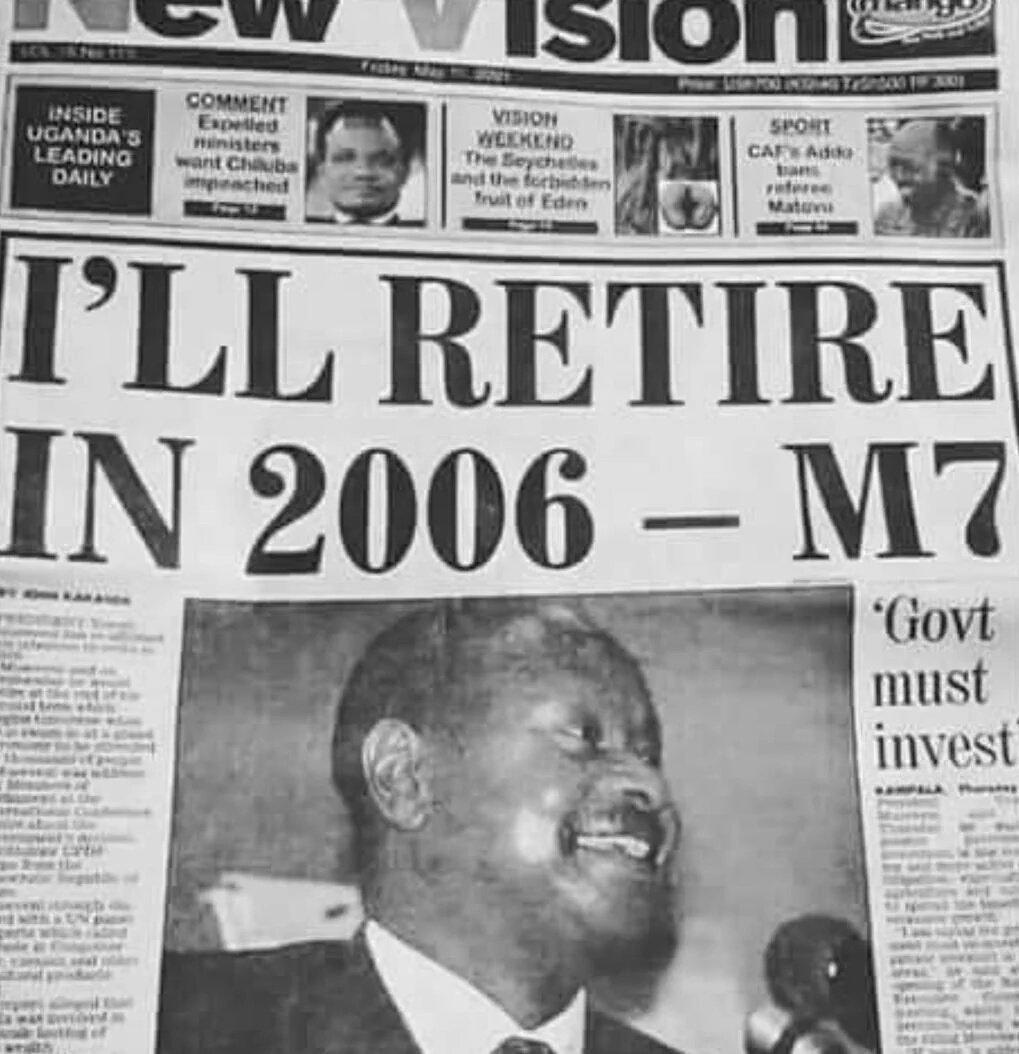 Museveni in 1945 https://t.co/itcXPhNvio
