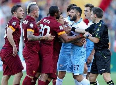 Derby Roma Lazio in programma domenica.