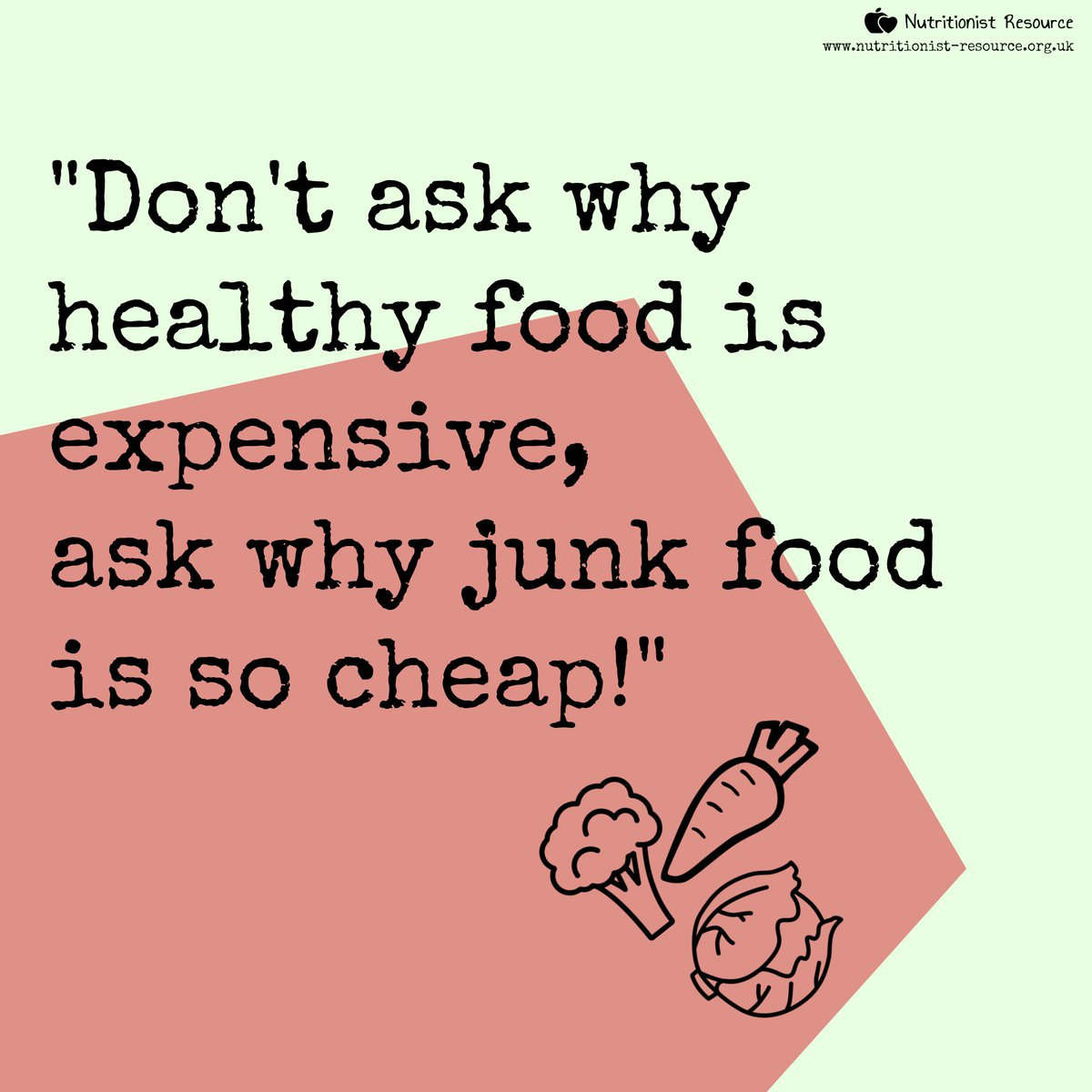 Image result for healthy vs junk food uk so expensive