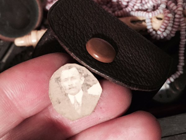 In that same leather strap, there is a tiny faded picture #MadeleineprojectEN https://t.co/XPUOgXyzb8