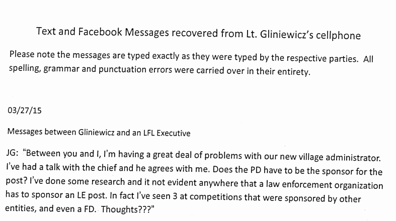 Read the Joseph Gliniewicz text messages. PDF: https://t.co/FiGFBJR4Xw https://t.co/6e3KXZYNu0