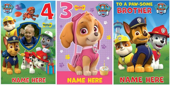 Personalise On Twitter New Official Pawpatrol Personalised