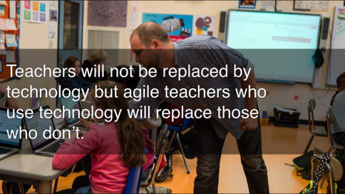 Teachers will not be replaced by technology...  #wise15 #LearningReimagined https://t.co/rR95rgOdoX