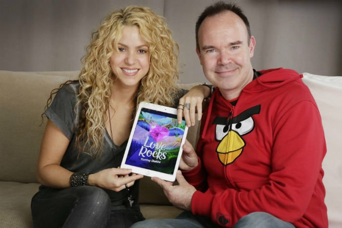 .@Shakira and @Rovio talk Love Rocks: 'It really is a joint venture' https://t.co/OqAiJtZcVn cc @pvesterbacka https://t.co/4uDucuhZod