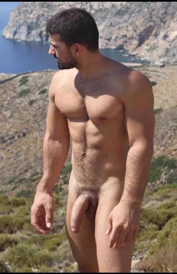 hung nudist well Very