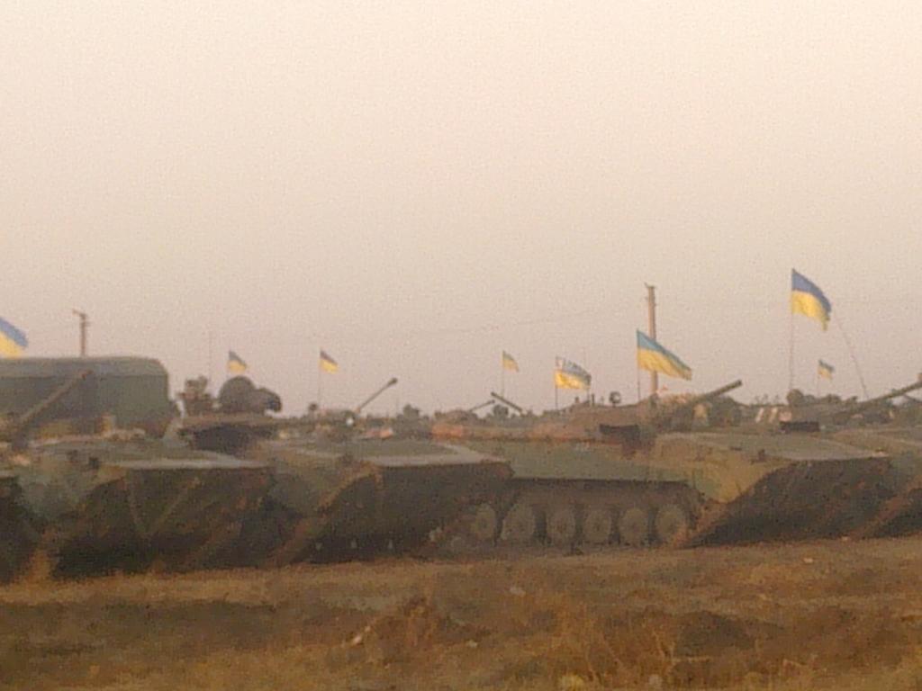 Спецмиссия ОБСЕ завершила верификацию отведенного вооружения, - спикер АТО Матюхин - Цензор.НЕТ 8265